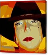 The Cowgirl Canvas Print