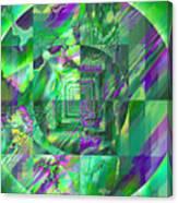 The Crazy Fractal Canvas Print