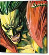 The Creeper Canvas Print