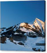 The Crested Butte Canvas Print