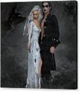 The Crows Wedding Canvas Print