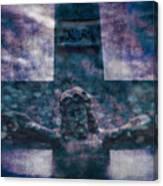 the Crucifixion of Jesus Canvas Print
