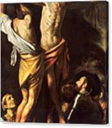 The Crucifixion Of Saint Andrew Canvas Print