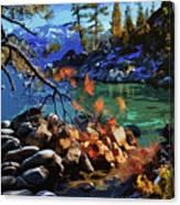 The Crystal Waters Of Lake Tahoe Canvas Print