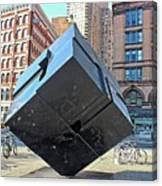 The Cube Canvas Print