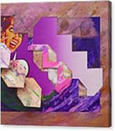 The Cubist Scream Canvas Print