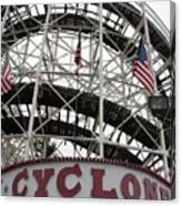 The Cyclone At Coney Island Canvas Print