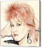 The Cyndi Lauper Canvas Print