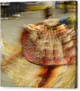 Pow Wow The Dance 2 Canvas Print