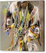 Pow Wow The Dance 4 Canvas Print