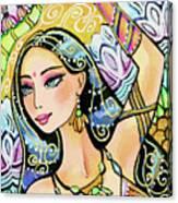 The Dance Of Daksha Canvas Print