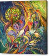 The Dance Of Lilies Canvas Print