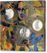 The Dance Of The Hummingbird Canvas Print