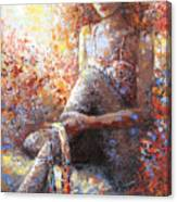 The Dancer In Ardent Canvas Print