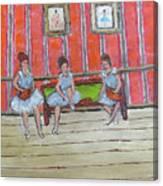 The Dancers Canvas Print