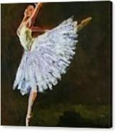 The Dancing Ballerina Canvas Print