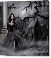 The Dark Caster Comes Canvas Print