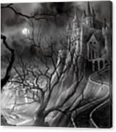 The Dark Castle Canvas Print