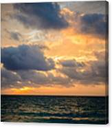 The Dark Sea Canvas Print