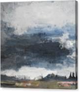 The Darkening Canvas Print