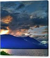 The Darkwoods And Kootenay Lake Canvas Print