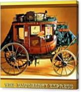 The Daugherty Express Canvas Print