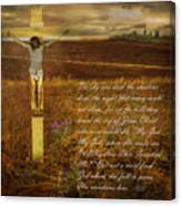 The Day Christ Died Canvas Print