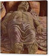 The Dead Christ 1478 Canvas Print