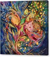 The Deep Blue Evening Canvas Print