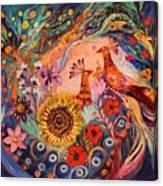 The Deep Blue Evening II Canvas Print