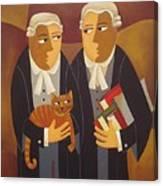 The Defendant Canvas Print