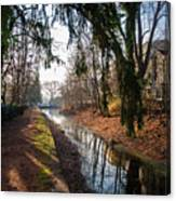 The Delaware Canal In New Hope Pa Canvas Print