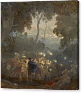 The Dell Of Comus Canvas Print