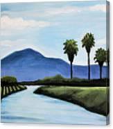 The Delta Canvas Print