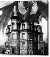 The Demon Of Hell House Canvas Print