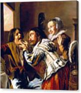 The Dentist, 1629 Canvas Print
