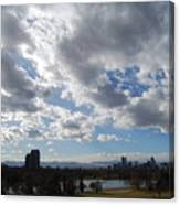 The Denver Sky Canvas Print