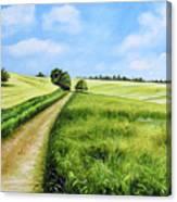 The Derbyshire Dales Canvas Print