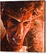 The Devil Waits Canvas Print