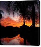 The Devil's Reflection Canvas Print