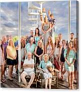 The Dezzutti Family Canvas Print