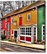 The Diamondback Tavern Of Ellicott City Canvas Print