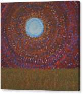 The Difficulty Of Crossing A Field Original Painting Canvas Print