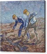 The Diggers Canvas Print