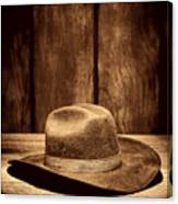 The Dirty Brown Hat Canvas Print