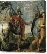 The Dismissal Of The Lictors Canvas Print
