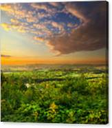 The Distance Between Here And Now Canvas Print