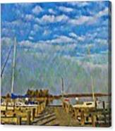 The Dock Of The Bay Canvas Print