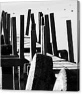 The Dock Canvas Print