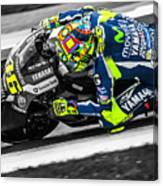 The Doctor At Assen Canvas Print